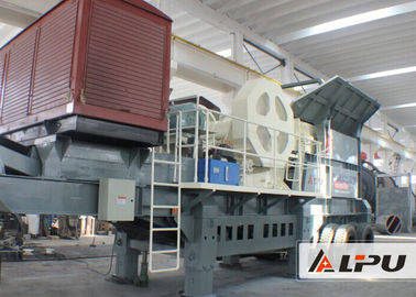 China High Mobility and Flexibility Mobile Crushing Plant Used in Sand Making Industry supplier
