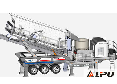China Small Mobile Cone Crushing Plant Used in Mining Industry With Low Cost supplier