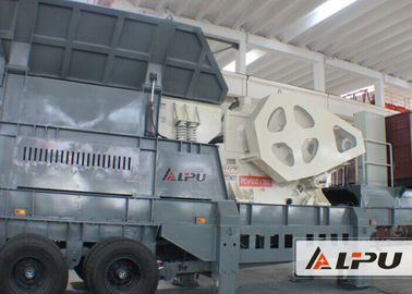 China Medium Hard Limestone Mobile Crushing Plant for Road Construction supplier