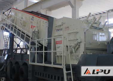 China Energy-saving Mobile Crushing Plant Used in the Quarry and Mining Industry supplier