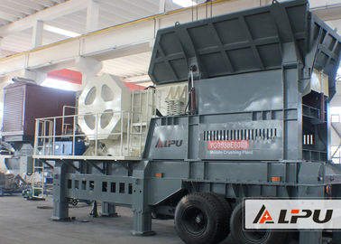 China Light Weight Mobile Crushing Plant For Hard Stone And Sand supplier