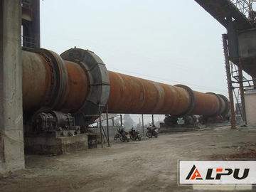 China Simple Structure And Little Noise Rotary Kiln With Speed 0.23 - 2.26r/min supplier