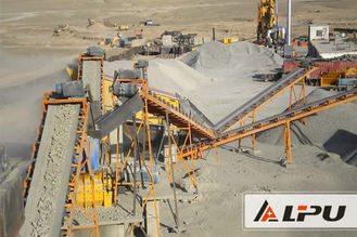 China 100t/h Stone Crushing And Screening Plant In Ore Dressing Industry supplier