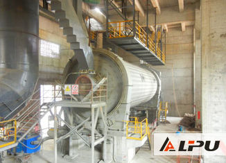 China Large Horizontal Rotary Cement Ball Mill In Cement Making Industry supplier