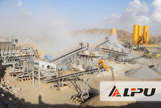 China Small Scale Stone Crusher for Hard Materials Mini - type Crushing Line supplier