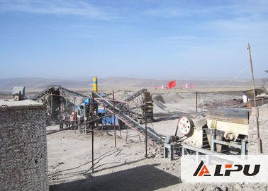 China High Efficiency Hard Stone Crushing Plant With Capacity 100 - 150 TPH supplier