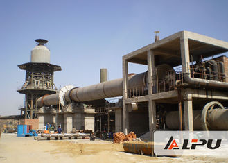 China 1.4×33 Energy Saving Cement Rotary Kiln For Wet / Dry Cement Production supplier