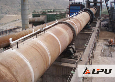 China 2.5×54m High Automation Lime Rotary Kiln in Metallurgy and Refractory Industry supplier