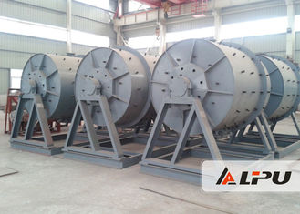 China Intermittent Cement Ball Mill With Manganese Steel Rubber Ceramic Liner supplier