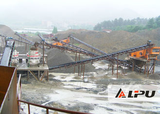 China High Efficiency Stone Crushing Line , Jaw Crusher Plant for Limestone Granite supplier