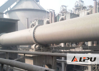 China 55kw Wet And Dry Process Cement Rotary Kiln Cement Plant , Steel Mill / Rotary Lime Kiln supplier
