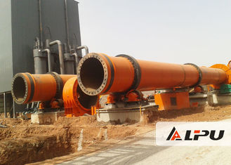 China Lime Calcination Rotary Cement Kiln To Roast Active Lime And Dolomite 26 - 5000 TPD supplier