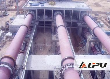 China 3.0×48 Energy Saving Rotating Kiln in Cement Metallurgy And Refractory Material supplier