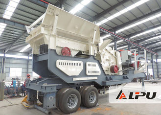 China Energy Saving Mining Iron Ore Mobile Crushing Plant for On - site Crushing supplier