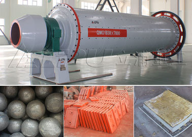 China Model 1830×7000 Ceramic Ball Mill for Mining Cement , Ball Milling Machine supplier