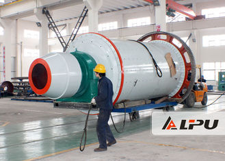 China Model 2400×4500 Mining Ball Mill in Cement Plant , Mineral Ore Dressing Plant supplier