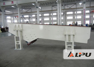 China Big Capacity Smooth Vibrating Feeder For Sandstone Production Line , High Speed supplier