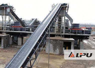 China Big Conveying Capacity Material Handling Conveyors For Construction , 1200mm Belt Width supplier