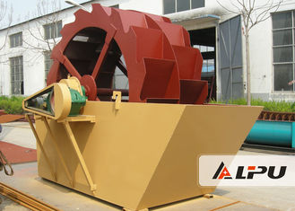 China Environmental Protection Sand Washing Machine / 11 Kw Sand Cleaning Machine supplier