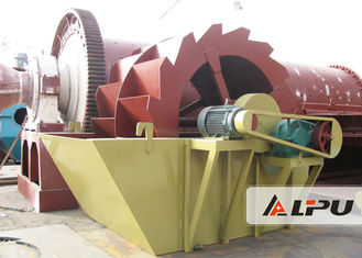 China Professional Spiral Sand Washer / River Sand Plant Equipment With 10mm Max Input supplier