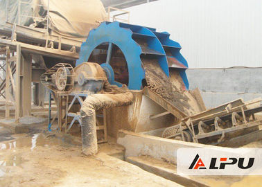 China Large Capacity Industrial Sand Plant Equipment For Construction , High Power supplier