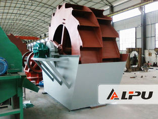 China 11kw Power Bucket Type Sand Washing Machine For Cement Mixture Station , High Ablution supplier