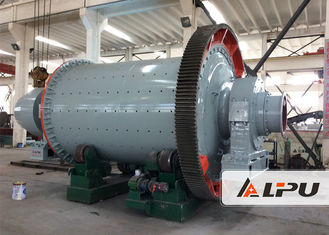 China Manganese Steel Lining Plate Mining Ball Mill for Mineral Ore Dressing 25 - 200 Mesh supplier