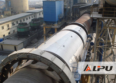 China Activated Carbon Rotating Calcination Kiln in Cement Plant , Cement Kiln supplier