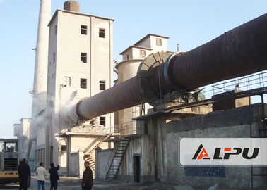 China Active Lime Rotary Kiln Cement Plant for Lime Production Line , 30kw Kiln Equipment supplier