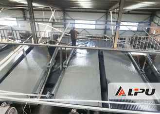 China Coarse or Fine Sand Deck Shaking Table , Gravity Concentration Equipment supplier