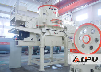 China Vertical Shaft Impact Crusher / Artificial Sand Making Machine Feed Size 50mm supplier