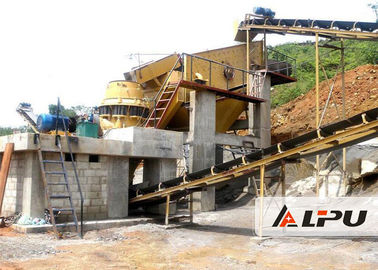 China 30-450 TPH Granite Stone Crushing Plant Production Line for Metallurgic Slag supplier