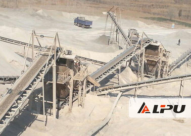 China Automatic 30-500TPH Jaw Crusher Machine For Marble River Gravel supplier