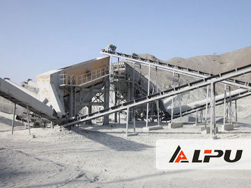 China Stationary Complete Stone Crushing Plant Equipment With CE IQNet supplier