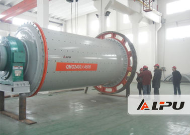 China Continuous Silica Sand Ball Milling Equipment Critical Speed 2400×4500 supplier