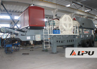 China Good Mobility Portable Stone Crusher Machine Mobile Jaw Crusher Plant supplier
