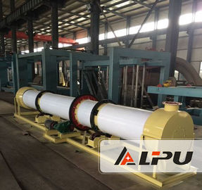 China Organic Fertilizer Drying Production Line For Poultry Manure / Straw Agricultural Wastes supplier