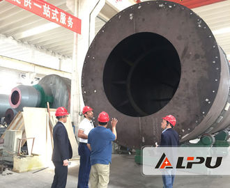 China Eco - Friendly 3 Cylinder Sand Industrial Dryer Machine Triple Pass Design supplier