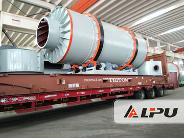 China ISO Certificated Industrial Rotary Dryer / Ore Sand Rotary Drum Dryer Machine supplier
