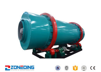 China 5.5 Kw Three Cylinder Rotary Drum Dryer For Drying Slurry Cement 1-8r/Min supplier