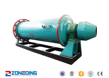 China Small Stone Ball Grinding Mill Machine For Cement / Overflow Ball Mill Equipment supplier