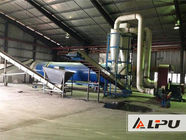 China Energy Saving Industrial Drying System , Wood Blocks And Sawdust Drying Equipment factory