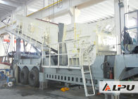China Economical Crawler Mobile Crusher / Mobile Crushing Plant For Limestone factory