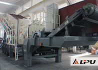 Large Capacity Mobile Impact Crushing Plant / Stone Crushing Machinery