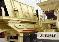 China Low Noise Mobile Crushing Plant For Hard Material / Stone Making factory