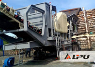 China High Flexibility Combined Mobile Crushing Plant Used in Mining Industry and Ore Dressing Plant factory
