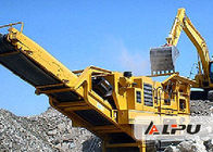 China Construction Waste Combination Mobile Crushing Plant High Performance factory