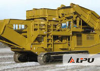 China Less Power Consumption Tracked Mobile Crushing Plant Used for Stone Crushing factory