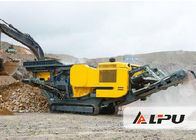 China Large Energy-saving Tracked Mobile Crushing Plant Used in Stone Production Plant factory