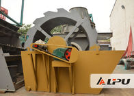 China Bucket Wheel Type Silicon Sand Washing Machine in Sand Making Plant factory